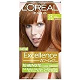 L'Oreal Paris Excellence To-Go 10-Minute Cr?N?Nme Coloring, Light Auburn 6R by L'Oreal Paris Hair Color [並行輸入品]