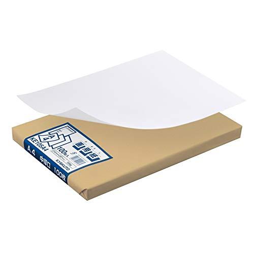 キョクトウ 画用紙 中厚口 A4 100枚 KE105A4
