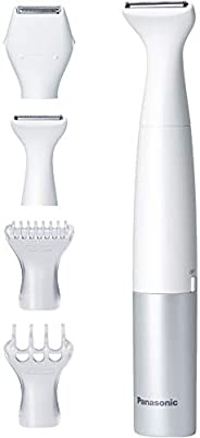 Panasonic ES-WV60-S Hair Remover, Ferier, VIO Dedicated Shaver, Waterproof, Silver-Toned