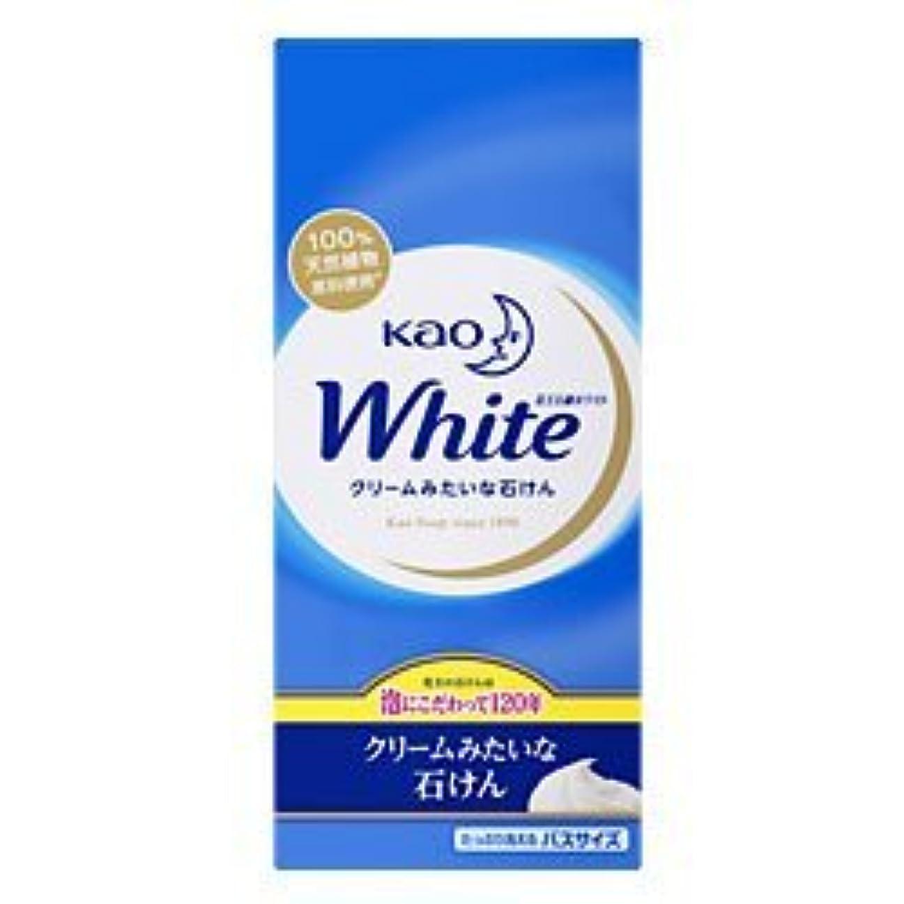 汚す風変わりな進化【花王】花王ホワイト バスサイズ 130g×6個 ×5個セット