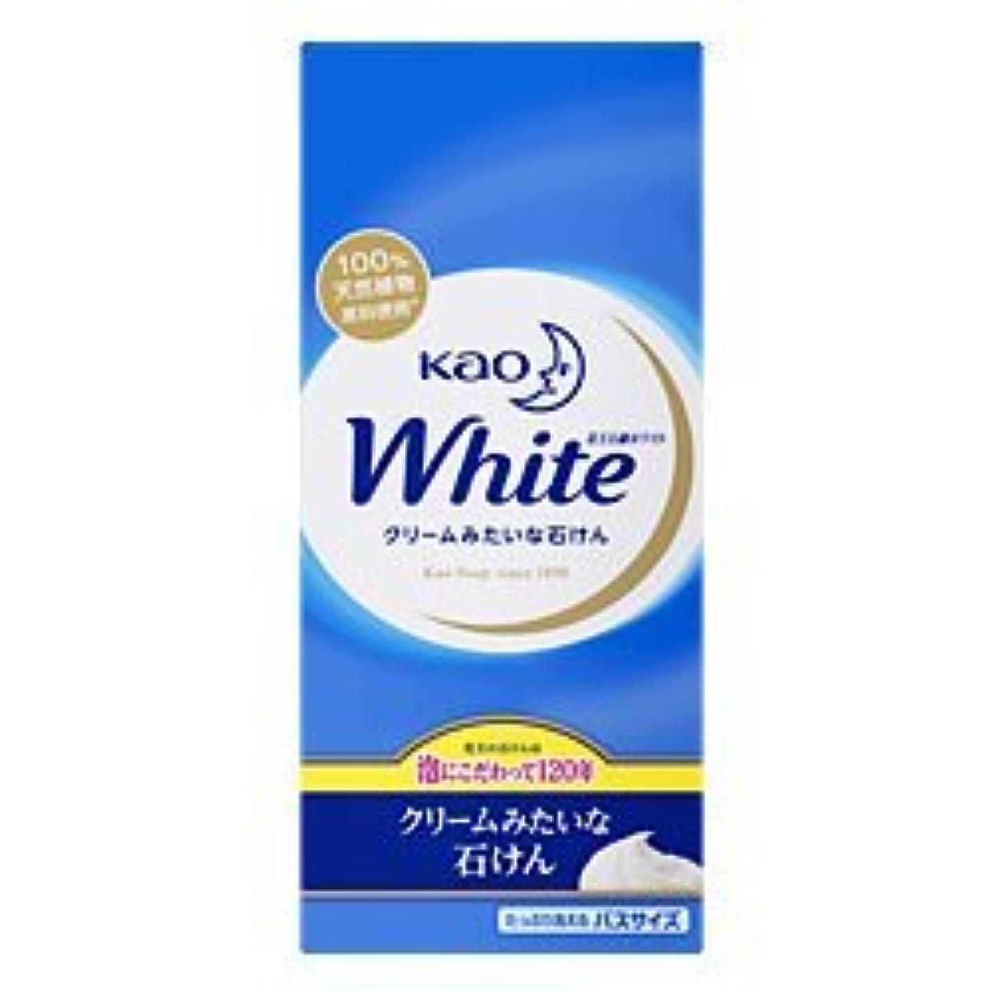 透けて見えるパテ示す【花王】花王ホワイト バスサイズ 130g×6個 ×5個セット
