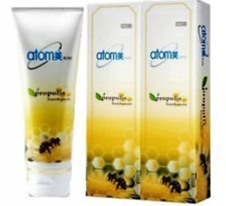 スキッパー素朴なアレルギー性Korea Atomy Atomy Propolis Toothpaste Oral Care System 2EA* 200g [並行輸入品]