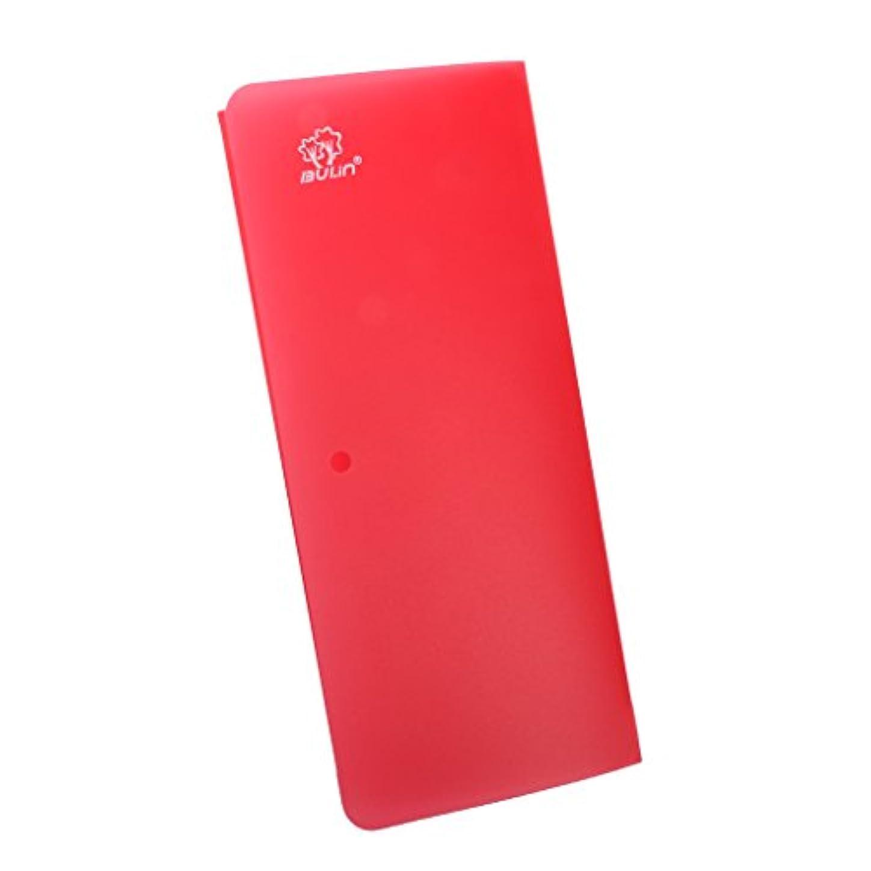 所有者自殺話Fityle 折り畳み 携帯 キャンプ ピクニック カッティング ボード まな板 超薄型 料理ツール レッド