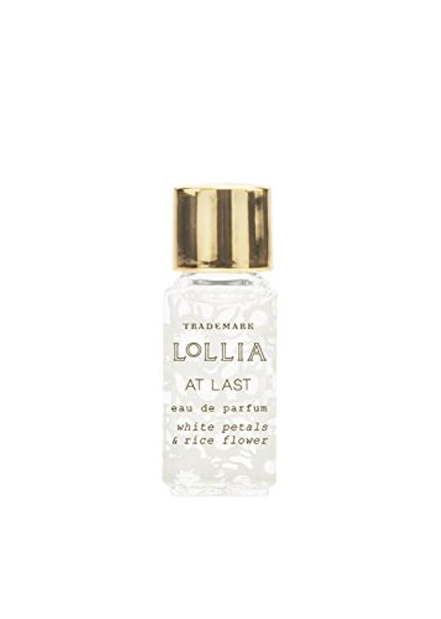 広範囲に冷酷なラブロリア(LoLLIA) ミニオードパルファム約3ml AtLast(香水 ライスフラワー、マグノリアとミモザの柔らかな花々の香り)