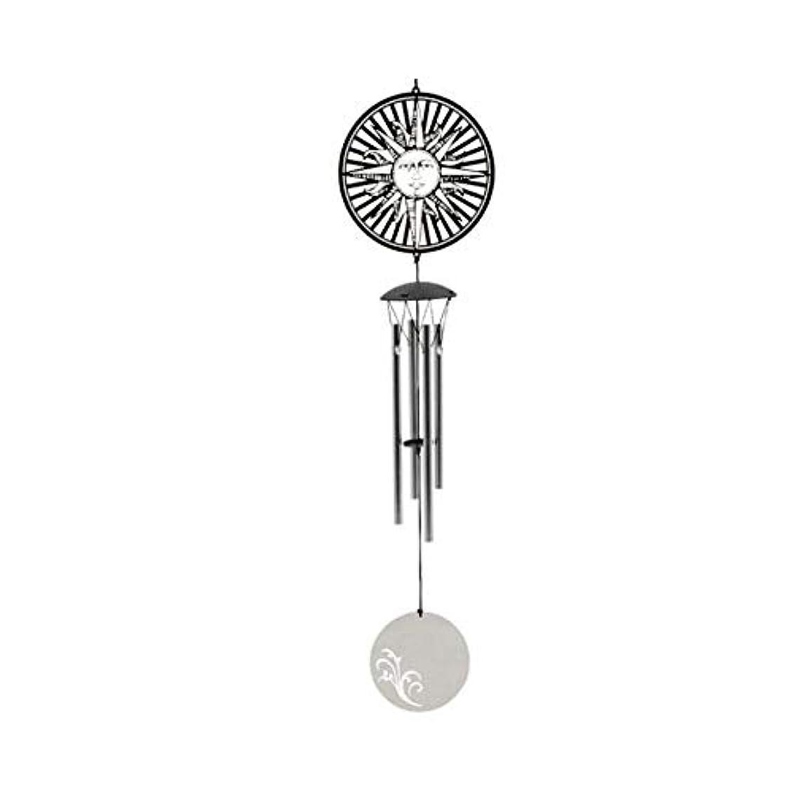 シートペルメル散らす風チャイム、メタルクリエイティブ4チューブ風の鐘、バレンタインデーの誕生日ギフト、ホームデコレーション、サイズ47.5 Cmを (Color : 8)