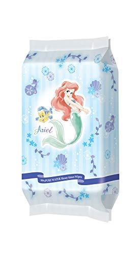 レックディズニー プリンセス アリエル 水99%おでかけ手・口ふき お出かけ用 1パック(25枚×2個) レック