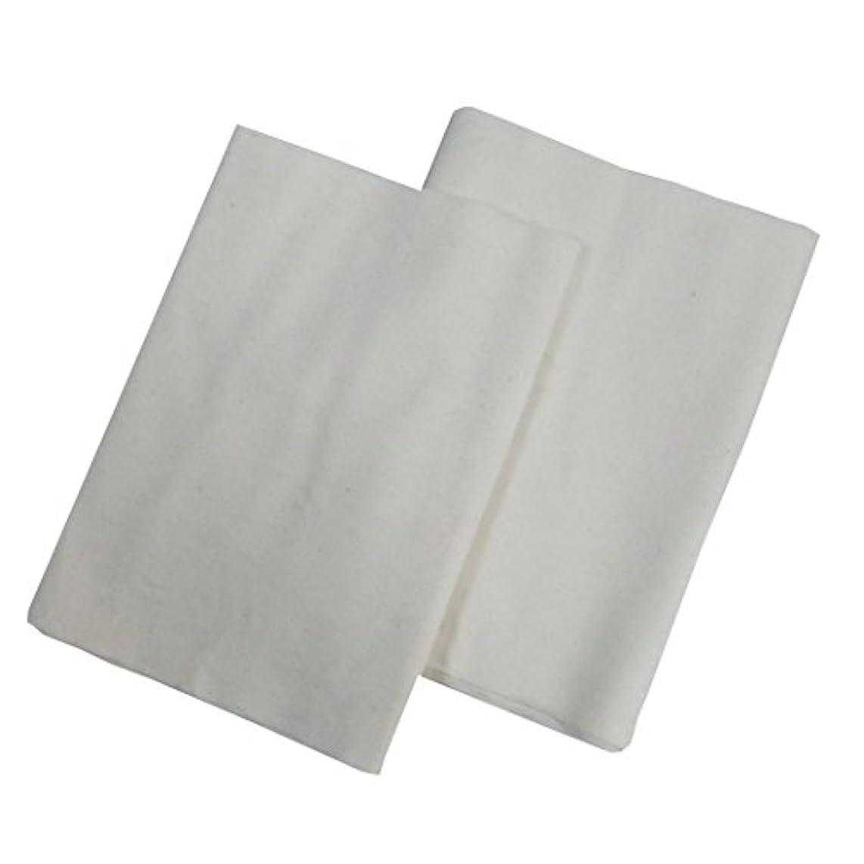ウェブ差別的避けられないコットンフランネル2枚組(ヒマシ油用)  無添加 無漂白 平織 両面起毛フランネル生成