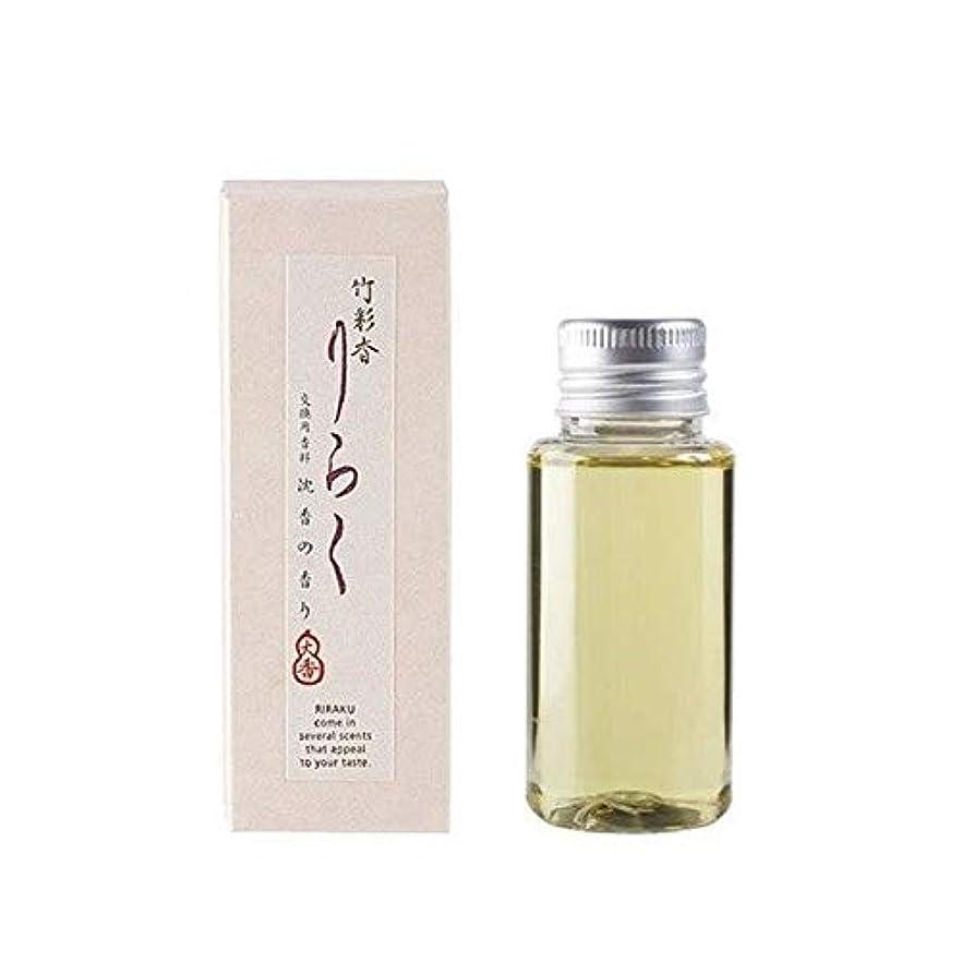 竹彩香りらく 交換用香料沈香 50ml