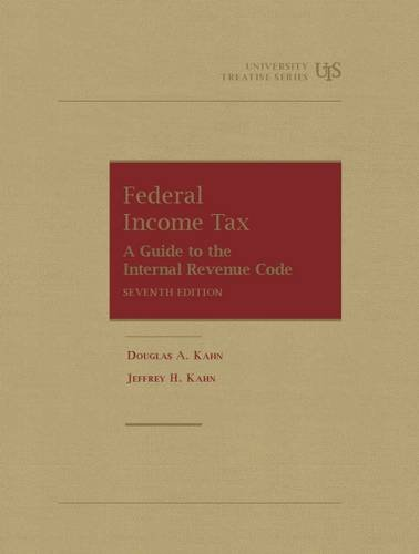 Download Federal Income Tax: Students Guide to the Internal Revenue Code (University Treatise) 1609304578