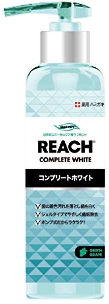 結び目名誉記憶REACH リーチ 歯みがき ポンプタイプ グリーングレープの香り180G×3点