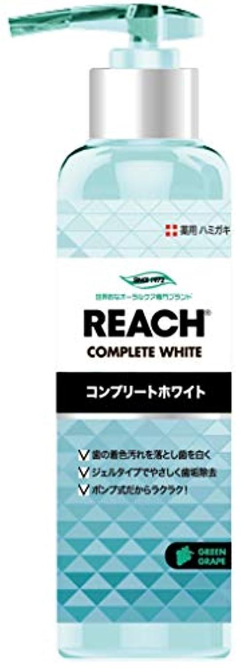 立証する継承複製するREACH リーチ 歯みがき ポンプタイプ グリーングレープの香り180G×6点