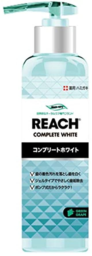 カテゴリー測る試みるREACH リーチ 歯みがき ポンプタイプ グリーングレープの香り180G×6点