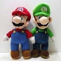スーパーマリオスタンドMario & Luigi Plush人形Stuffed Toy 10、1ロット/ 2ピース) by Great Shop Deals