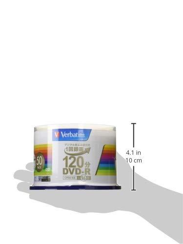 『三菱ケミカルメディア Verbatim 1回録画用DVD-R(CPRM) VHR12JP50V4 (片面1層/1-16倍速/50枚)』の3枚目の画像