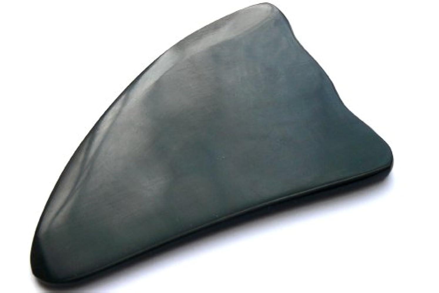 取り付けオーバーコート慢性的かっさ板、美容、刮莎板、グアシャ板,水牛角製