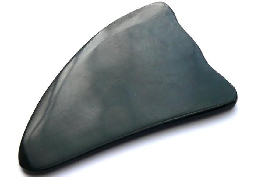 マニアミュート霜かっさ板、美容、刮莎板、グアシャ板,水牛角製