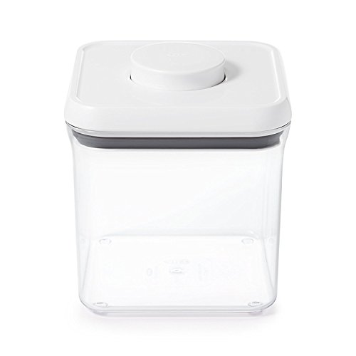 OXO 保存容器 密閉 プラスチック 2.3L ポップコンテナ ビッグスクエア ショート 1071399