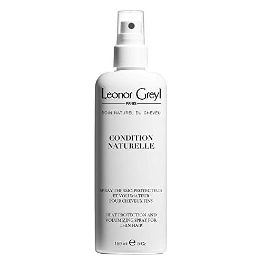 ぬいぐるみ有利議題Leonor Greyl Paris コンディションNaturelle - 熱は保護とボリューム化は薄い髪、5.2オンスのためのスプレー。