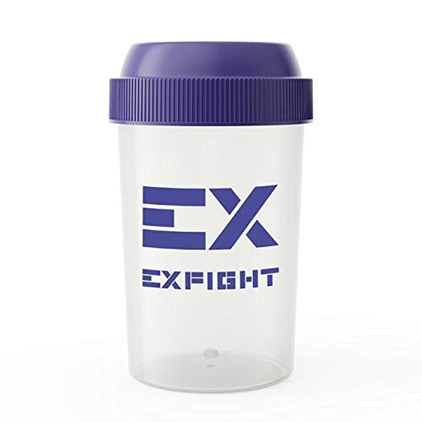 楽観的取り替えるラウンジEX-SHAKER シェイカーボトル ブルー 300ml(エクスサプリ EXSUPPLI シェーカー EXILE サプリ)