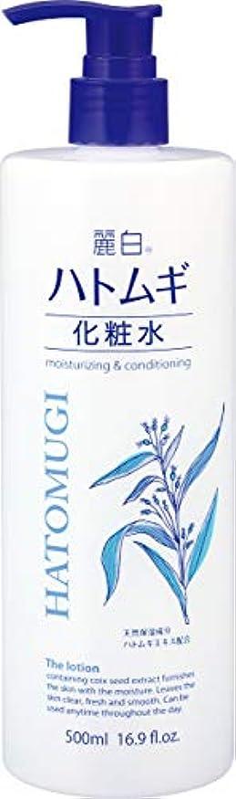 豆腐手綱に対応する麗白 ハトムギ化粧水 本体 500ml