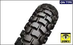 BRIDGESTONE(ブリヂストン)バイクタイヤ TRAIL WING TW302 リア 4.10-18 59P チューブタイプ(WT) MCS08410 二輪 オートバイ用