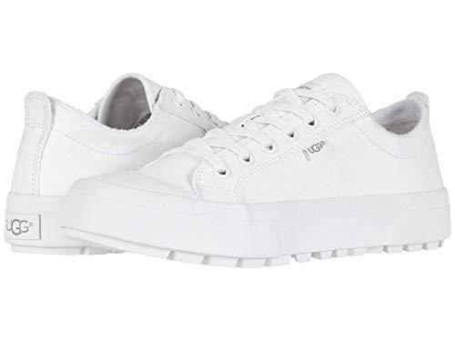 [アグ] レディースウォーキングシューズ・スニーカー・靴 Aries White 7.5 (24.5cm) B - Medium [並行輸入品]