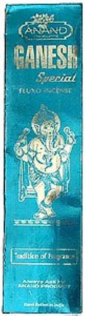 余分な肉確認Anand Ganesh特別なfluxo incense – 25グラムパッケージ – エキゾチックインドからIncense