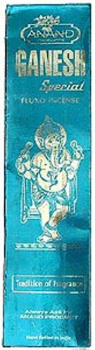 ピッチャーアンドリューハリディ精巧なAnand Ganesh特別なfluxo incense – 25グラムパッケージ – エキゾチックインドからIncense