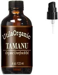 オーガニック タマヌオイル 120ml ポンプ付き Tamanu Oil 100% pure and natural [並行輸入品]