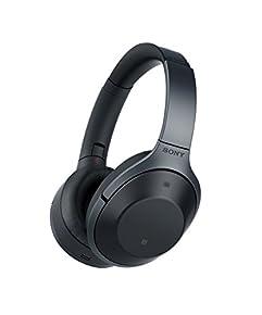ソニー SONY ワイヤレスノイズキャンセリングヘッドホン MDR-1000X : ハイレゾ対応 Bluetooth/LDAC/NFC対応 マイク付き/ハンズフリー通話可能 DSEE HX搭載 ブラック MDR-1000X B
