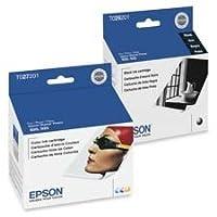 Epson t026201Intellidgeインク, 500ページ印刷可、ブラック