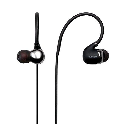 エレコム ELECOM Bluetooth R ワイヤレスステレオイヤホン ブラック LBT-HPC50MPBK