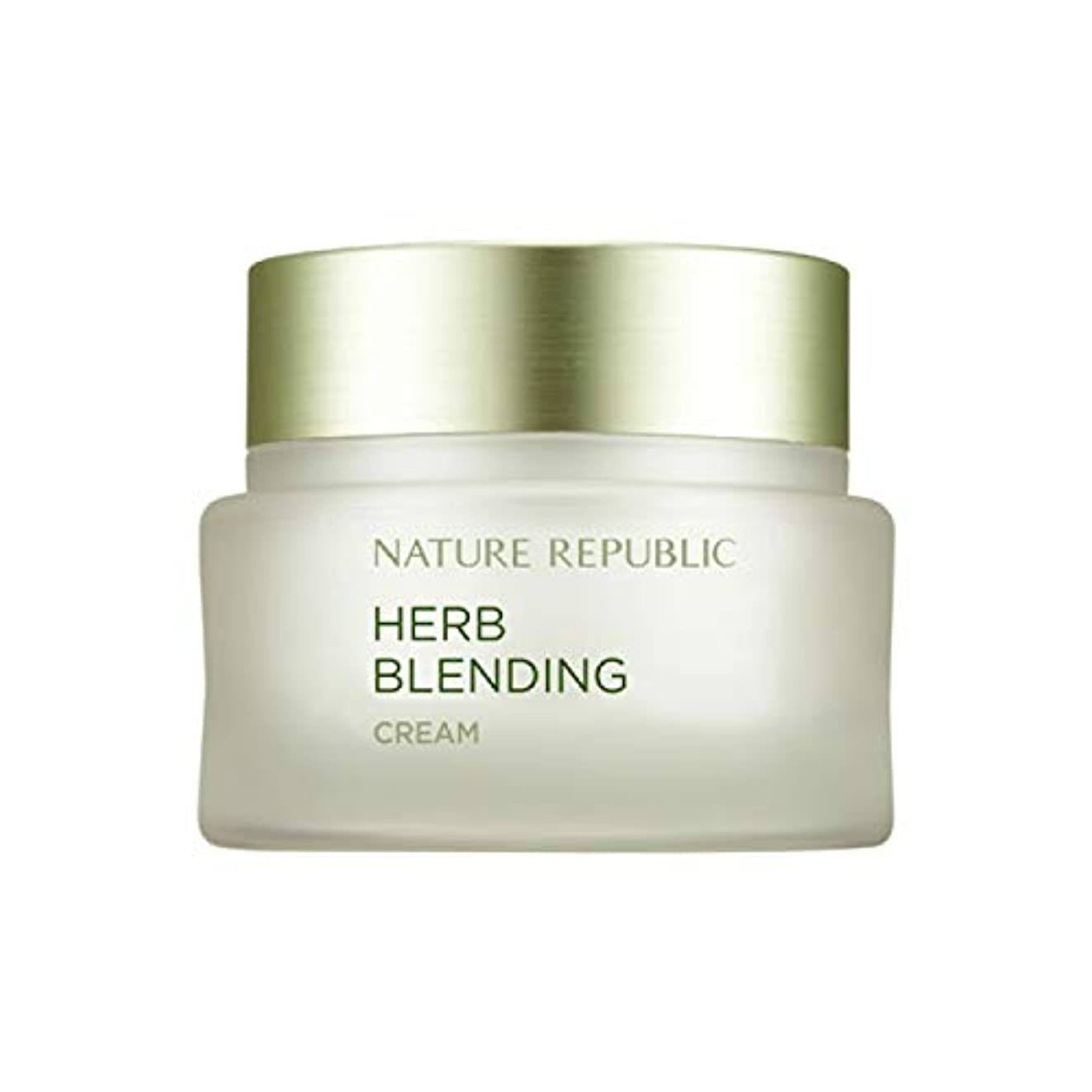 知恵歌息子ネイチャーリパブリック(Nature Republic)ハブブレンドクリーム 50ml / Herb Blending Cream 50ml :: 韓国コスメ [並行輸入品]