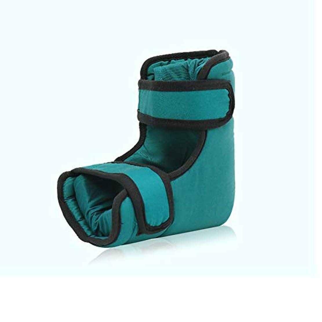 ヒールプロテクター、足首サポートピロー、足圧を和らげる睡眠用、潰瘍および癒しを促進する潰瘍、一対