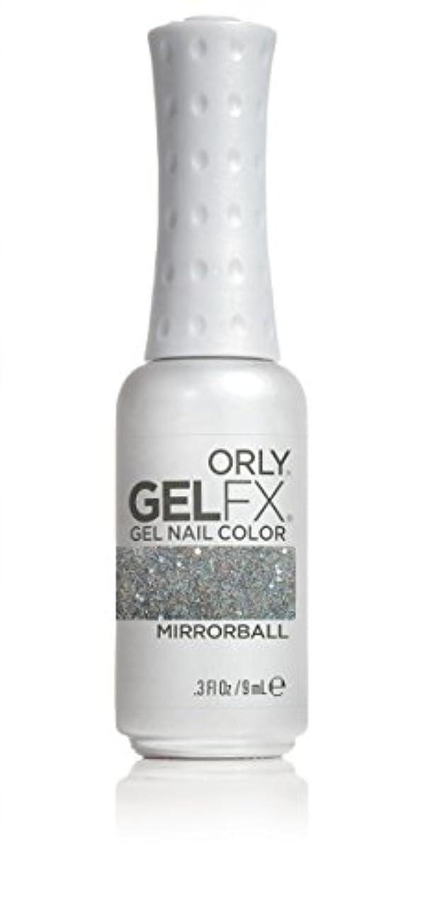 所有権立法適度にOrly GelFX Gel Polish - Mirrorball - 0.3oz / 9ml