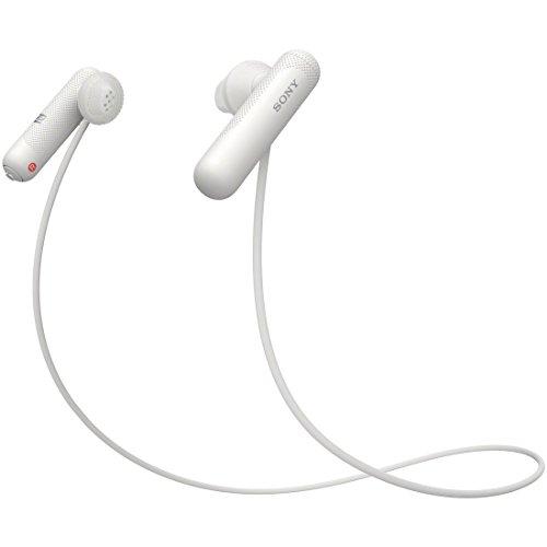 ソニー WI-SP500-W ワイヤレスステレオヘッド ホワイト
