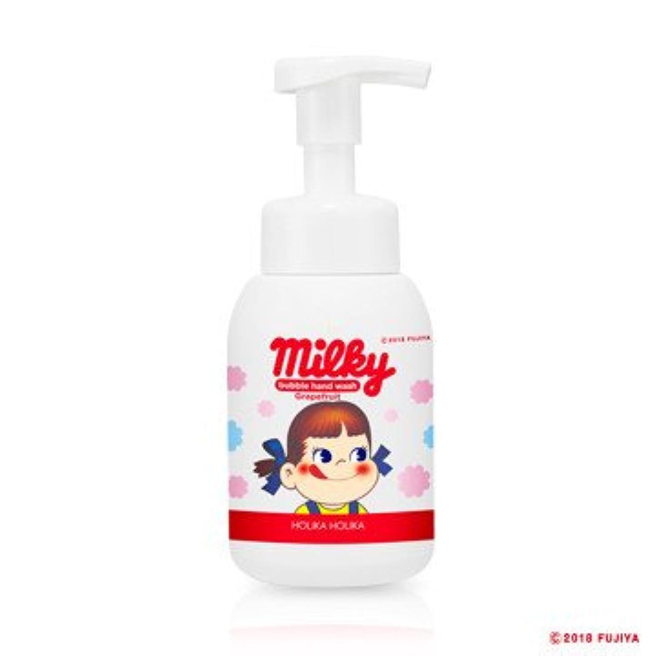 消毒剤日付付き動員するHolika Holika [Sweet Peko Edition] Bubble Hand Wash/ホリカホリカ [スイートペコエディション] バブルハンドウォッシュ 250ml [並行輸入品]