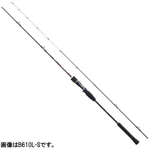 シマノ ベイトロッド 炎月 SS 鯛ラバ B610ML-S 6.1フィート