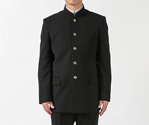 標準型詰襟学生服 ポリエステル100% ラウンドカラー学生上衣 新入生/在校生応援品 (170A)