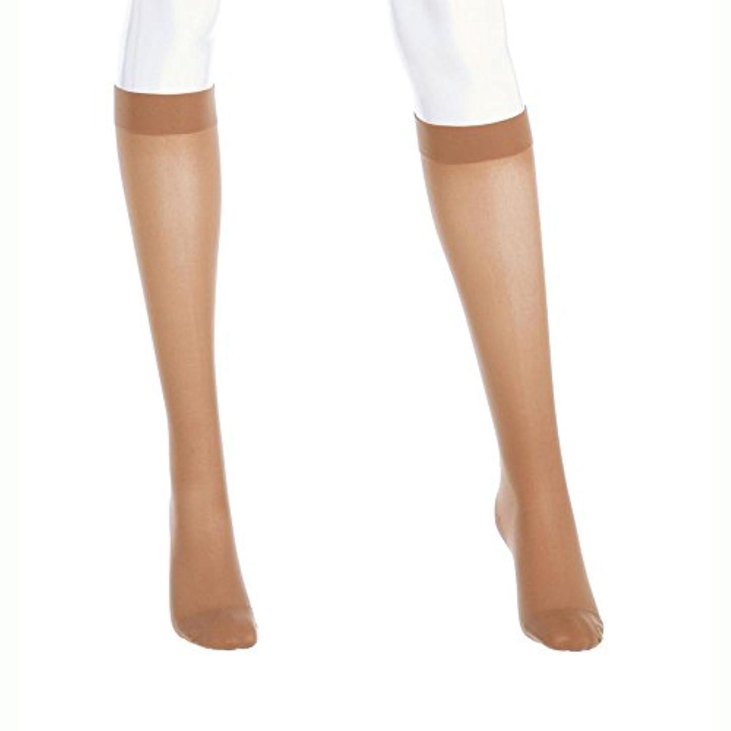 コンプライアンスケーブルカー孤独Mediven Assure, Closed Toe, 20-30mmHg, Knee High Compression Stocking, Large, Black by Medi