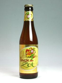 ドゥ・ハルヴ・マーン ブルッグス・ゾット・ブロンド 330ml 【ベルギービール】