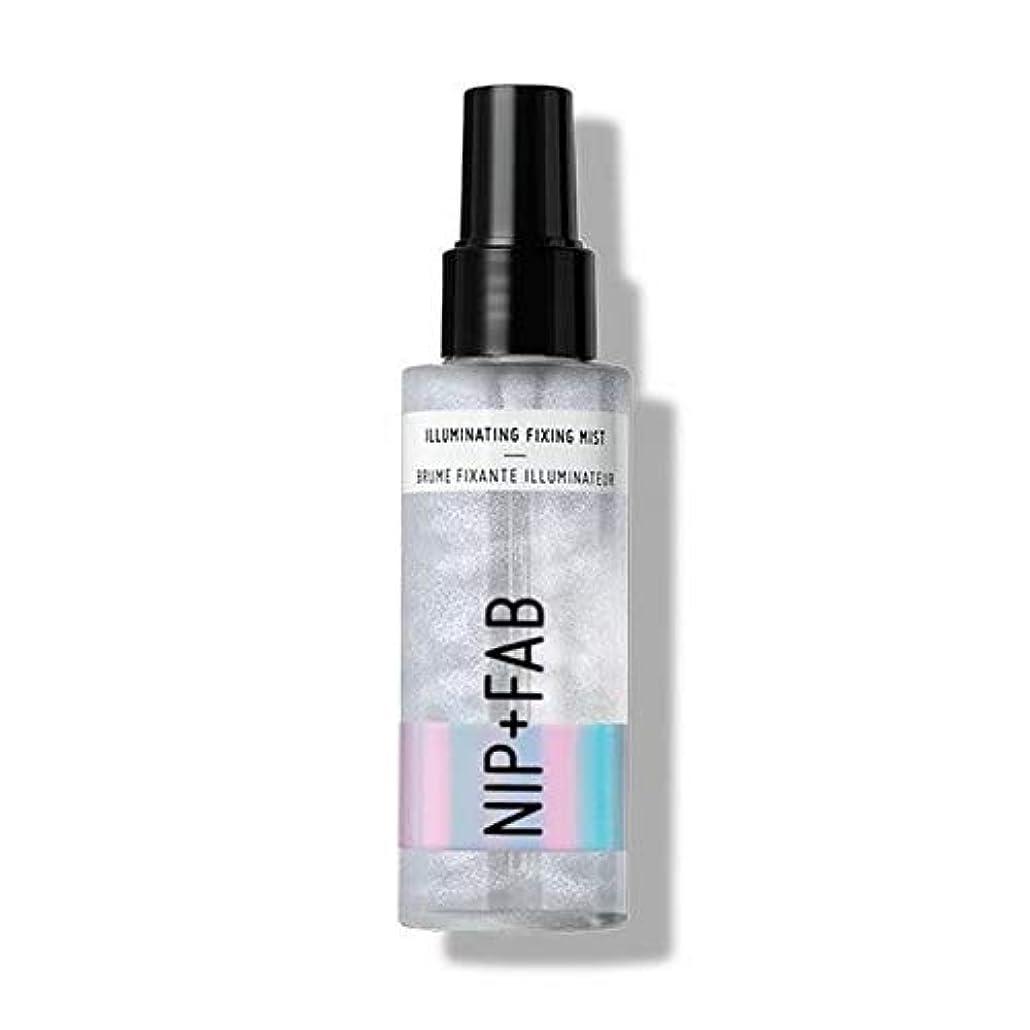 生産的汚染する親愛な[Nip & Fab ] 固定ミスト100ミリリットルを照らす作るFab +ニップ - Nip+Fab Make Up Illuminating Fixing Mist 100ml [並行輸入品]