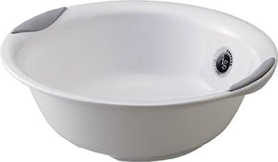リス 『ユニバーサルデザインの浴用品』 ラスレヴィーヌ 湯桶 プラチナホワイト