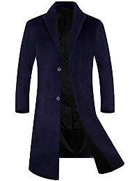 APTRO(アプトロ)メンズ コート チェスターコート ウール 中綿入り 暖かい ロング 通勤 紳士服 冬コート オシャレ ビジネスコート