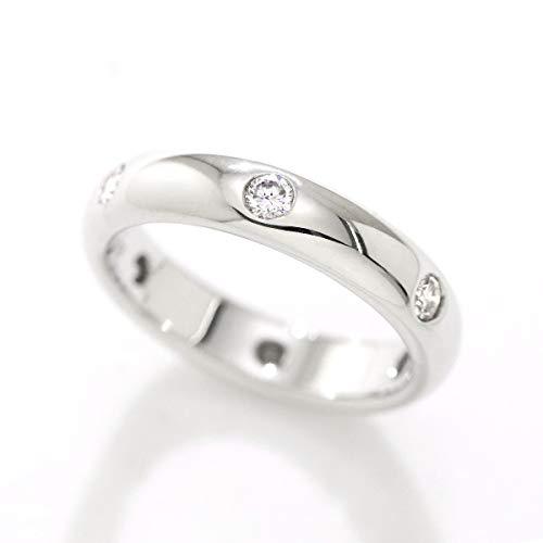 カルティエ Cartier ステラ ダイヤ 6P リング #48 K18WG 18金ホワイトゴールド ダイア 指輪 【中古】 90055061