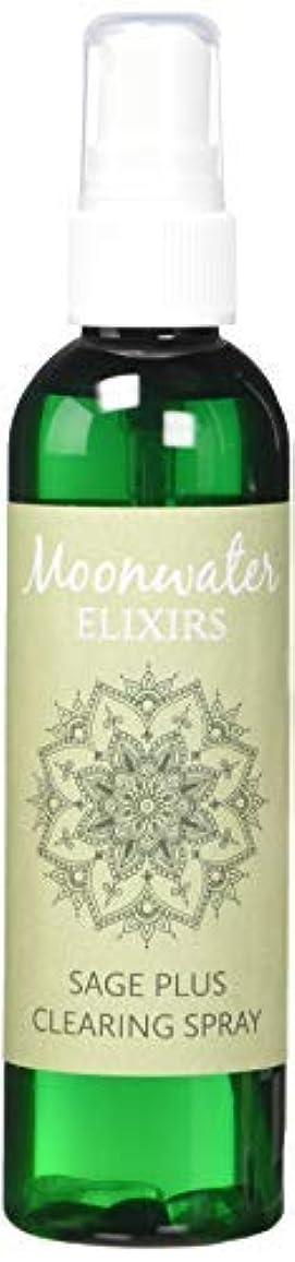 フラッシュのように素早く事前通行人Moonwater Elixirs ホワイトセージスプレーとスマッジスティッククレンジングキット 洗浄と浄化エネルギー用 (4オンス)