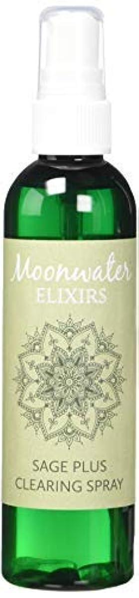 チャートキャンバス仲介者Moonwater Elixirs ホワイトセージスプレーとスマッジスティッククレンジングキット 洗浄と浄化エネルギー用 (4オンス)