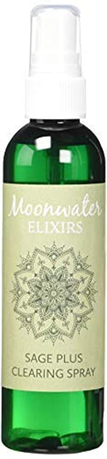Moonwater Elixirs ホワイトセージスプレーとスマッジスティッククレンジングキット 洗浄と浄化エネルギー用 (4オンス)