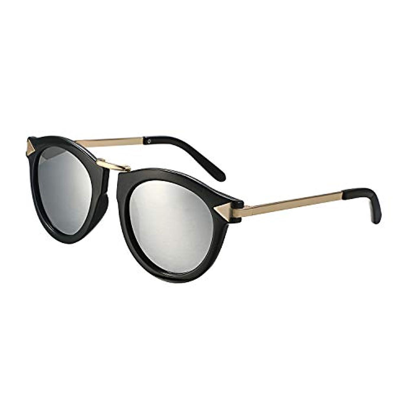 ひまわり本会議祖父母を訪問Aroncent サングラス 偏光レンズ メガネ サングラス レトロ UV400 おしゃれ シンブル アンティーク風 ファッション アクセサリー シルバー