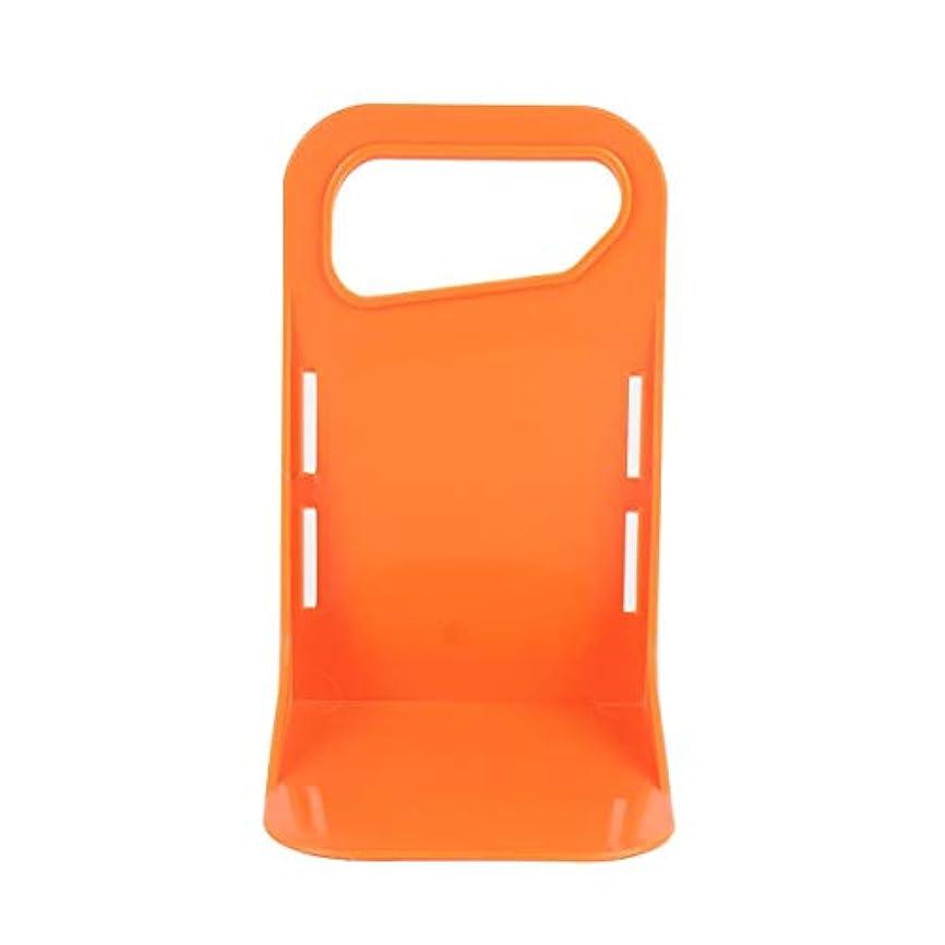 自慢柔和近似Tivollyff 多機能車のバック自動トランク固定ラックホルダー荷物ボックススタンド防振オーガナイザーフェンス収納ユニットホルダー オレンジ